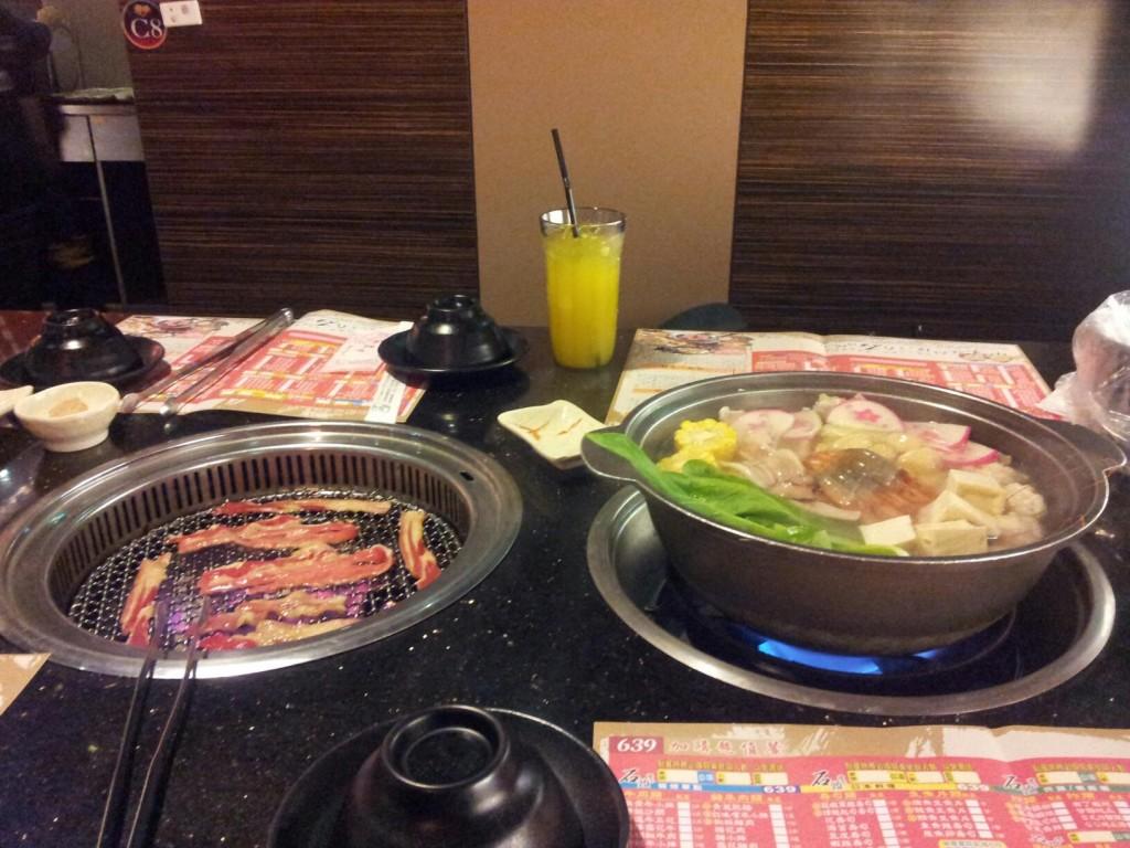 石頭日式燒肉現場