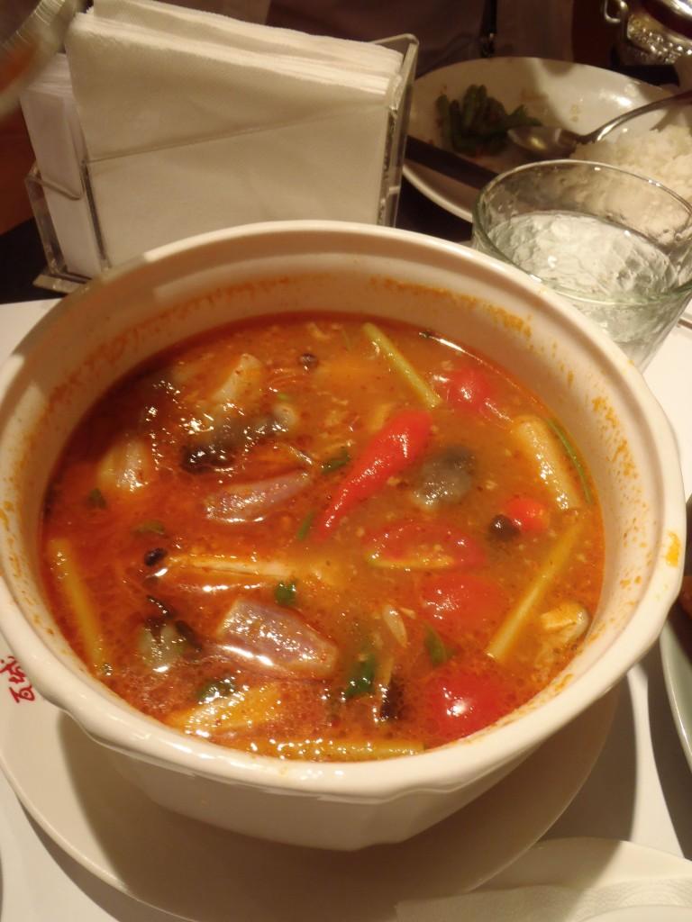 酸辣海鮮湯