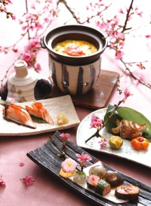 台北喜來登桃山櫻花祭料理照片