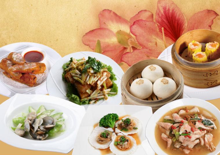 中式吃到飽合菜