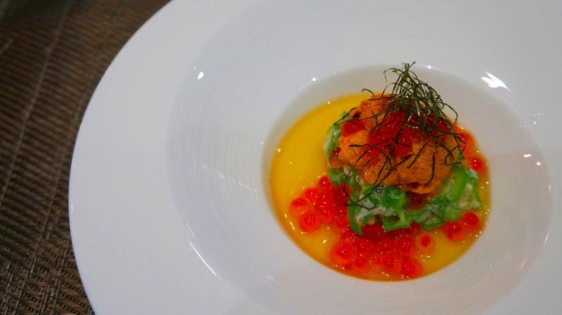 海膽山葵佐鮭魚卵-001
